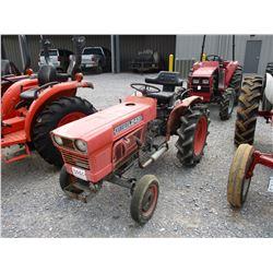 KUBOTA L245 FARM TRACTOR, VIN/SN:126794 - 3 PTH, PTO, 8.3-8/22 TIRES, METER READING 1,241 HOURS