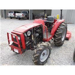 MASSEY FERGUSON FARM TRACTOR, VIN/SN:JH0810 - 3 PTH, PTO, 14.9-24 TIRES, METER READING 1,866 HOURS