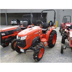 2016 KOBOTA L3310D FARM TRACTOR, VIN/SN:63400 - MFWD, 3 PTH, PTO, ROLL BAR, 11.2-24 REAR TIRES, 7.2-
