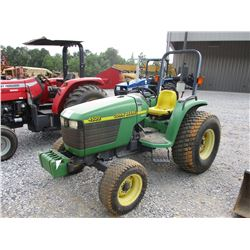 JOHN DEERE 4500 FARM TRACTOR, VIN/SN:250248 - 3 PTH, PTO, ROLL BAR, 44X1800-20 TIRES, METER READING