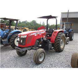 MASSEY FERGUSON 2650 FARM TRACTOR, VIN/SN:BU43008 - 3 PTH, PTO, 2 HYD, REMOTES, CANOPY, 16.9-30 REAR
