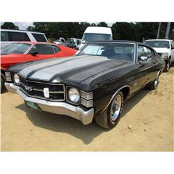 CHEVROLET CHEVELLE SS, VIN/SN:1D37F2B57806 - V8 GAS ENGINE, A/T, ODOMETER READING 83,884 MILES