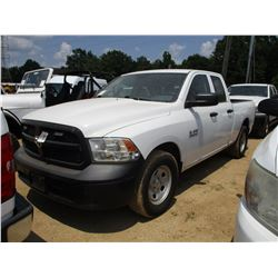 2014 DODGE RAM 1500 PICK UP, VIN/SN:1C6RR6FGXES350369 - CREW CAB, V8 GAS ENGINE, A/T, ODOMETER READI