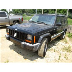 2000 JEEP CHEROKEE VIN/SN:1J4FT48SXYL219339 - GAS, A/T, ODOMETER READING 193,622 MILES (COUNTY OWNED