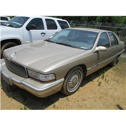 1995 BUICK ROADMASTER VIN/SN:1G4BN52P9SR407083 - GAS ENGINE, A/T, ODOMETER READING 102,195 MILES