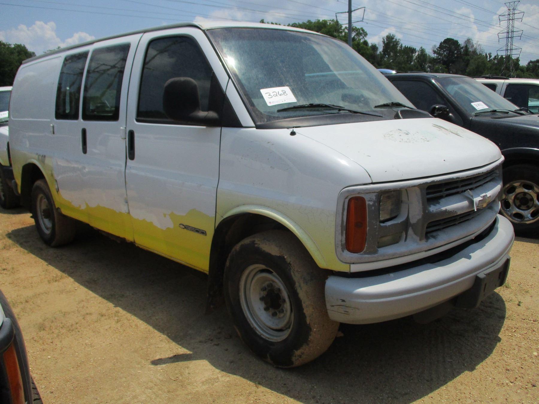 2002 Chevrolet 3500 Express Cargo Van  Vin  Sn 1gchg35r421158815  T  Odometer