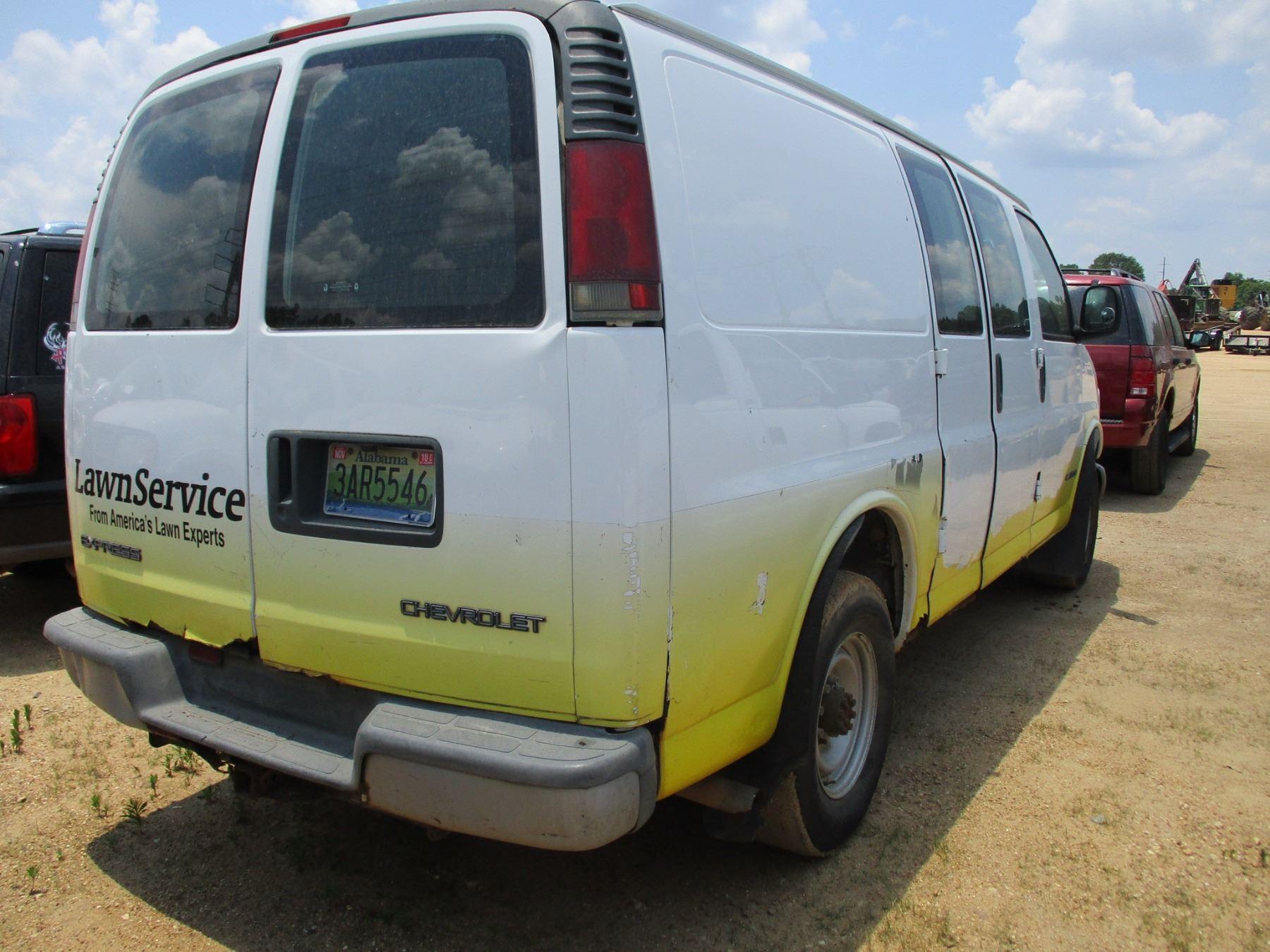 Diagram 2002 Chevrolet Express Van T