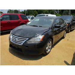 2013 NISSAN SENTRA VIN/SN:3N1AB7AP9DL759888 - GAS ENGINE, A/T, ODOMETER READING 103,397 MILES