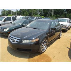 2005 ACURA TL SEDAN, VIN/SN:19UUA66255A004879 - GAS, A/T, ODOMETER READING 157,294 MILES