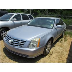 2006 CADILLAC DTS SEDAN, VIN/SN:1G6KD57Y36U145821 - GAS ENGINE, A/T, ODOMETER READING 187,300 MILES
