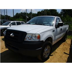 2007 FORD F150 PICK UP, VIN/SN:1FTRF14W67NA82369 - 4X4, EXTENDED CAB, V8 GAS ENGINE, A/T, TOOL BOX,