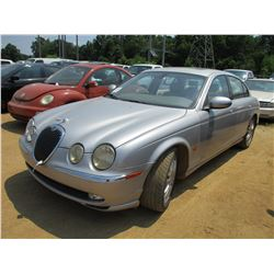 2003 JAGUAR S-TYPE VIN/SN:SAJEA01U73HM60364 - V8 GAS ENGINE, A/T, ODOMETER READING 145,970 MILES