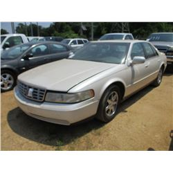 2004 CADILLAC SLS SEDAN, VIN/SN:1G6K554YZYU284836 - V8 GAS ENGINE, A/T, ODOMETER READING 128,614 MIL