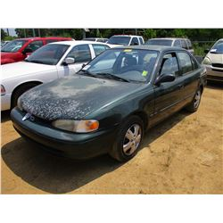 2002 CHEVROLET SEDAN, VIN/SN:1Y1SC52802Z404882 -GAS ENGINE, A/T, ODOMETER READING 223,615 MILES