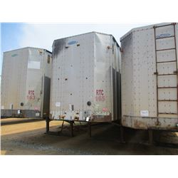 2003 PEARLESS CHIP TRAILER, VIN/SN:1PLE04021XPC26086 - T/A, CLOSED TOP, 40' LENGTH, HALF GATE, 11R24