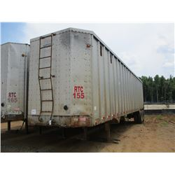 2003 PEARLESS CHIP TRAILER, - T/A, CLOSED TOP, 40' LENGTH, HALF GATE, 11R24.5 TIRES