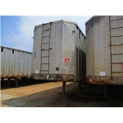 1993 PEARLESS CHIP TRAILER, VIN/SN:1PLE0402XPPA12854 - T/A, CLOSED TOP, 40' LENGTH, HALF GATE, 11R24