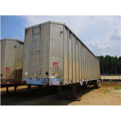 1991 PEARLESS CHIP TRAILER, VIN/SN:1PLE0402XMPB60900 - T/A, CLOSED TOP, 40' LENGTH, HALF GATE, 11R24