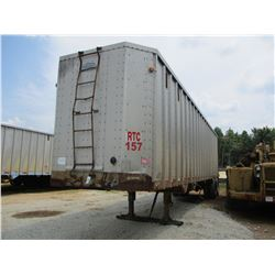 PEERLESS CHIP TRAILER, - T/A, CLOSED TOP, HALF GATE, 40' LENGTH, 11R24.5 TIRES