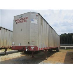 2007 PEERLESS CHIP TRAILER, VIN/SN:1PLE045287PJ55453 - T/A, WALKING FLOOR, CLOSED TOP, 40' LENGTH, H