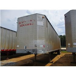 2006 PEERLESS CHIP TRAILER, VIN/SN:1PLE045296PB55009 - T/A, WALKING FLOOR, CLOSED TOP, 40' LENGTH, H