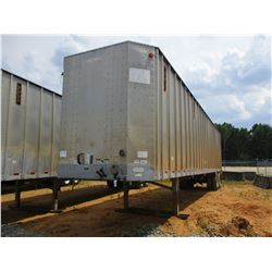 2006 PEERLESS CHIP TRAILER, VIN/SN:1PLE045276PB55008 - T/A, WALKING FLOOR, CLOSED TOP, 40' LENGTH, H