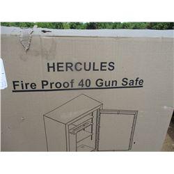 HERCULES FIRE PROOF 40 GUN SAFE