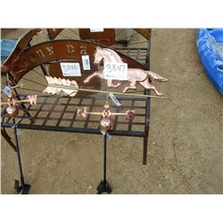 METAL HORSE WIND VANE