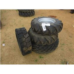 (4) MISC SIZE TIRES