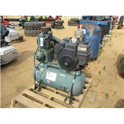 CHAMPION R-SERIES AIR COMPRESSOR, - GAS ENGINE, TANK MOUNTED (COUNTY OWNED)