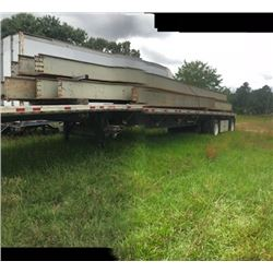 "- 40' X 16"" STEEL WEB CRANE BEAM (SELLING OFFSITE IN TALLASSEE, AL)"