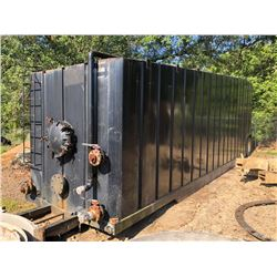 FRAC TANK, - 40' LENGTH, AGITATOR SYSTEM, SELLING ABSENTEE, LOCATED IN MOBILE, AL