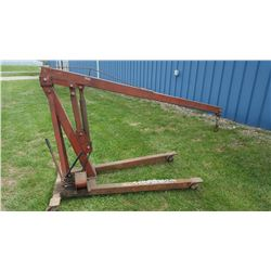 ENGINGE HOIST, (COUNTY OWNED) (SELLING SBSETEE LOCATED IN FRANKLIN KY)