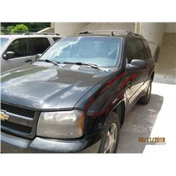 2008 CHEVROLET TRAILBLAZER VIN/SN:1GNDT13S282152719 - GAS ENGINE, A/T (COUNTY OWNED) (SELLING OFFSIT
