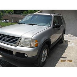 2003 FORD EXPLORER VIN/SN:1FMZU73WX3UB31854 - GAS ENGINE, A/T (COUNTY OWNED) (SELLING OFFSITE LOCATE