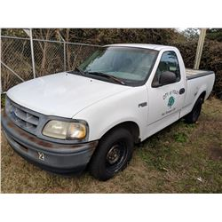 1997 FORD F150 PICKUP, VIN/SN:1FTDF17W7VNC96953 - GAS ENGINE, A/T, ODOMETER READING 133,274 MILES, S