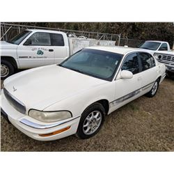2001 BUICK PARK AVENUE, VIN/SN:1G4CW54K214211839 - GAS ENGINE, A/T, CITY OWNED, SELLING ABSENTEE, LO