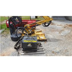 "ALAMO MACHETE BOOM MOWER, VIN/SN:02033 - 60"" CUT, NO FRAME (COUNTY OWNED) (SELLING ABSETEE LOCATED I"