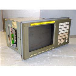 "FANUC A02B-0166-C201/R 9""CRT/MDI UNIT"