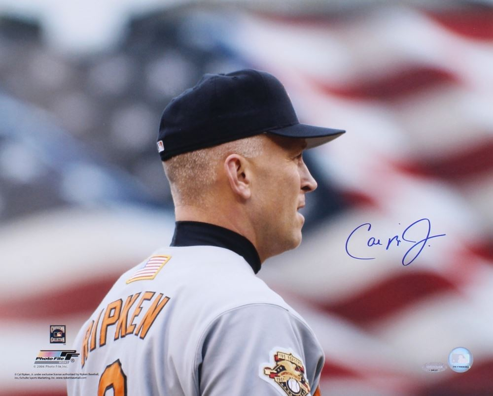 6388d42f2 Image 1   Cal Ripken Jr. Signed Orioles 16x20 Photo (Ironclad Hologram)