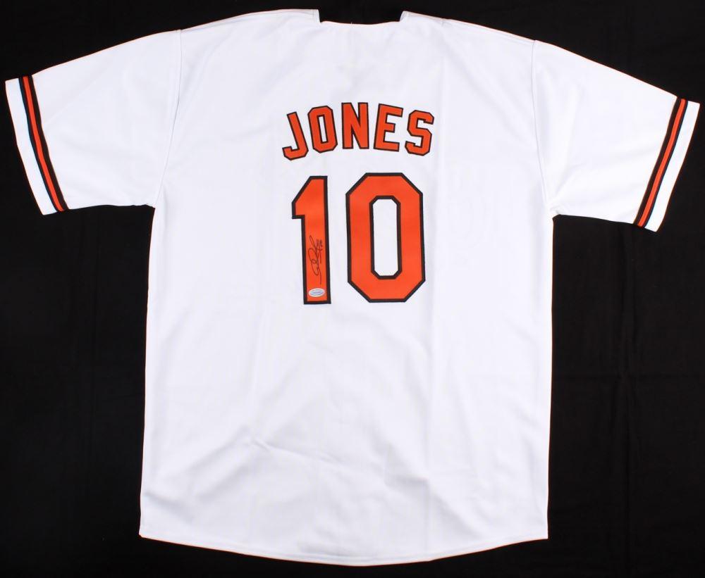 best website b889c 0fca3 Adam Jones Signed Orioles Jersey (Hollywood Collectibles ...