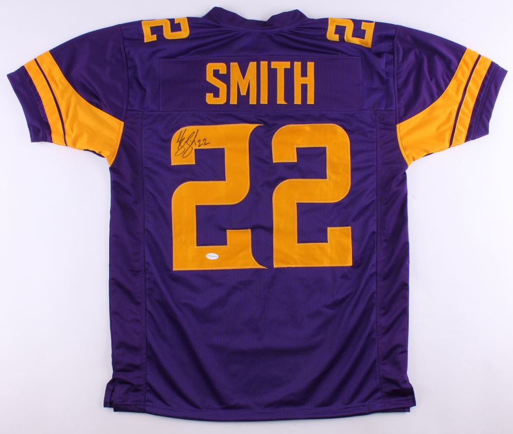 competitive price c13dd 73eef Harrison Smith Signed Vikings Jersey (TSE Hologram)