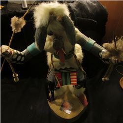 "16 1/2"" Kachina Doll signed on the bottom ""M. Nelson"". Very attractive but unsure of the year it was"