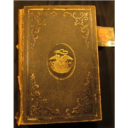 "Leather Bound Civil War Book, part of leather binding has disappeared. Binding loose. ""The Patriotis"