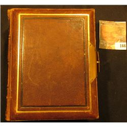 Leather Bound with Brass hinge Photograph's Album. With numerous Civil War era photos.