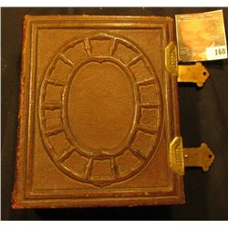 Leather Bound with Brass hinge Photograph's Album. Filled with Civil War era photos.