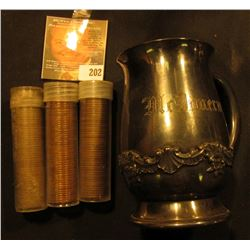 "Mfd. & plated by Reed & Barton ""82"" Single-handled mug engraved ""McImeruy"".4"" x 2 1/4""; & 1944S, 52S"