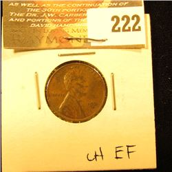 1931 S Lincoln Cent. Choice EF.
