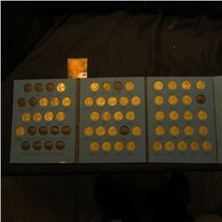 1938-61 Partial Set of Jefferson Nickels in a blue Whitman folder.