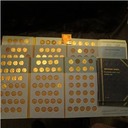 (6) blue Jefferson Nickel Whitman folders with coins. Includes quite a few Silver War Nickels.